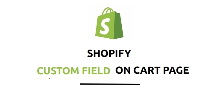 How to Add Custom Field In Shopify Cart Page